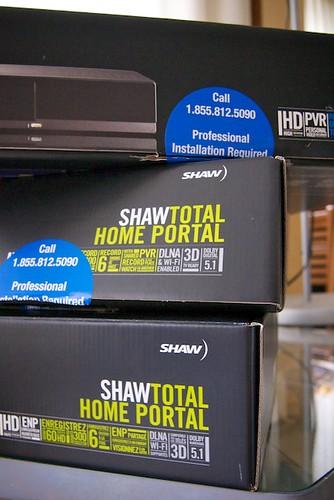 Shaw Gateway HDPVR