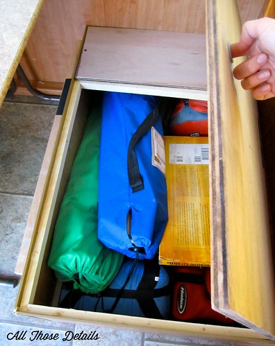 Cabinet Under Bench