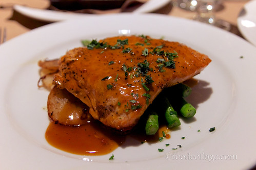 Whiskey Glazed Salmon at Braddock's American Brasserie