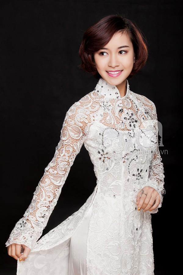 Các kiểu áo dài cưới đẹp nhất 2