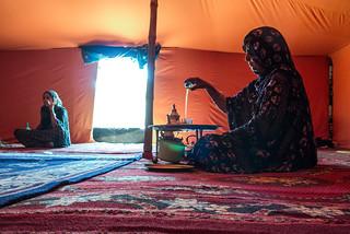 La Jaima tradicional: Sobrevivencia y Resistencia a la ocupación