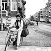 Just me, my bike and my double bass www.amsterdamcyclechic.com
