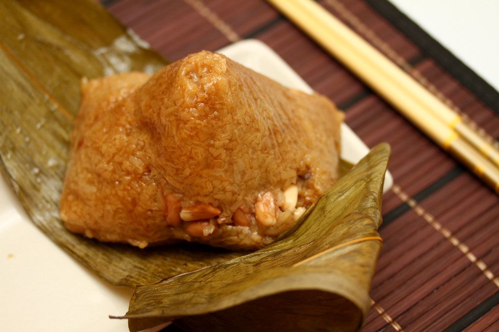 InterContinental Singapore's XO Sauce Nyonya Dumpling (XO娘惹粽)