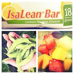Eat good, feel good. Back on track. :) #isagenix #freshoutthegarden #fruit #yummy