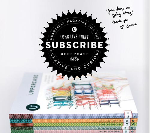 Uppercase stationery guide 5