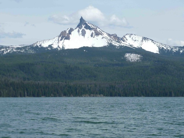 A diamond in the rough diamond lake fishing report the for Fish lake oregon