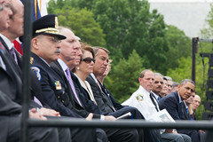 At the annual National Peace Officers� Memorial Service on the West Front of the U.S. Capitol, Speaker John Boehner and bipartisan leaders honor fallen law enforcement officers. May 15, 2013. (Official Photo by Bryant Avondoglio)  --- This official Speaker of the House photograph is being made available only for publication by news organizations and/or for personal use printing by the subject(s) of the photograph. The photograph may not be manipulated in any way and may not be used in commercial or political materials, advertisements, emails, products, promotions that in any way suggests approval or endorsement of the Speaker of the House or any Member of Congress.