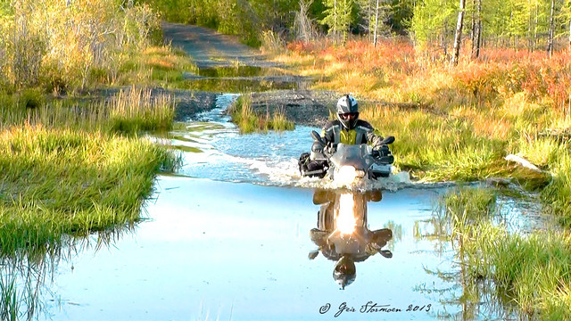 Water Crossing Drowned F800gs Adventure Rider
