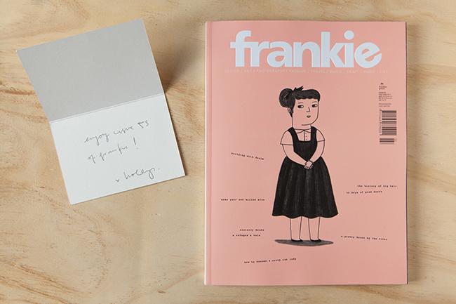 Las bandejas en el nº53 de la revista australiana Frankie Magazine