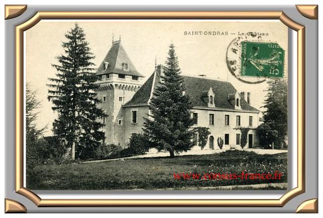 SAINT-ONDRAS Le Château (Rhône)-70-150