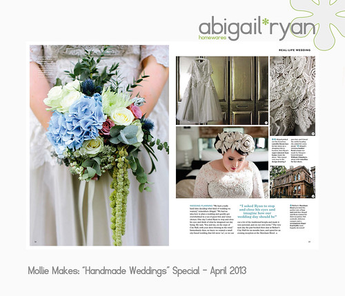 Mollie Makes Handmade Weddings Magazine...