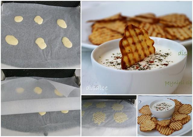 peynirli cips(ev yapımı)