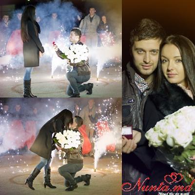 """Concurs """"Cea mai originala cerere în căsătorie!!!"""" > Vadim si Marina"""