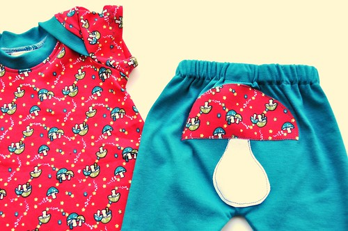The Mushroom, Of Course! Dress and Leggings Set *3-6 Months*