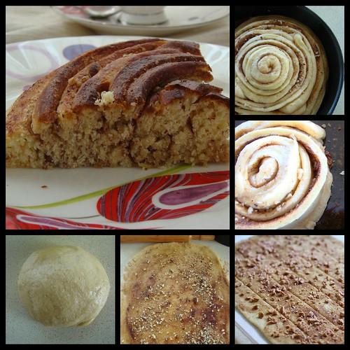 cevizli tarçınlı çörek nasıl yapılır