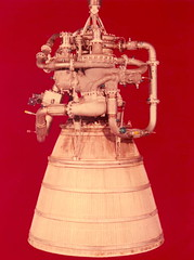 XLR-115 hydrogen fueled rocket engine developed by Pratt and Whitney Aircraft