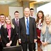 John Swinney meets Scottish apprentices