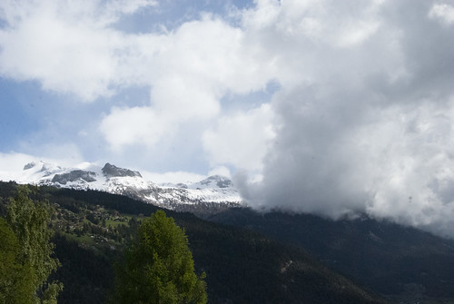 Fresh snow, Aminona, Valais, 24 May 2013