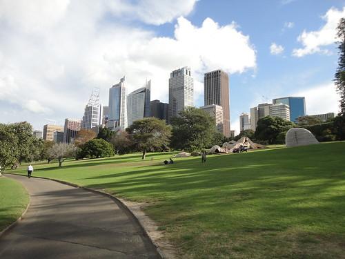 Sydney View from Royal Botanic Gardens