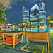 Relax by the Fullerton Bay poolside and enjoy the view of Marina Bay Singapore by williamcho