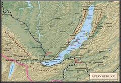 Baykal+Olkhon map