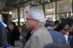 """Frances Parcerisas, guanyador del Premi Llibreter 2013 per """"La primavera a Pequín. Un dietari"""". (Crèdit foto: Weilisi)."""