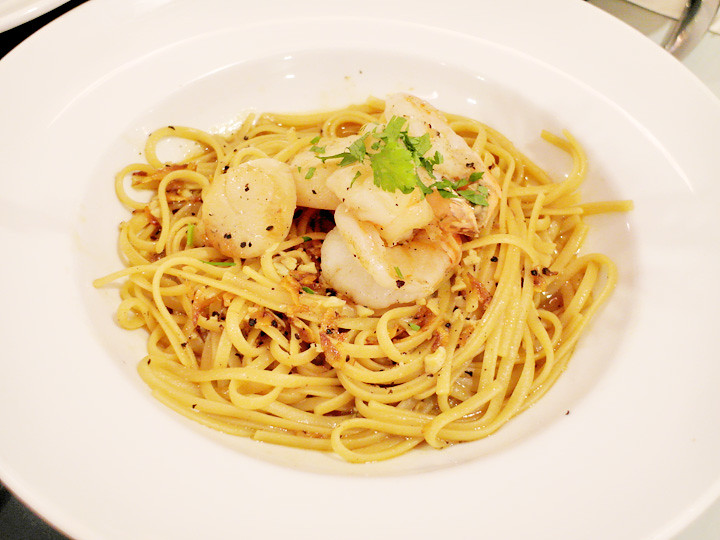 SEARED SCALLOP LINGUINI