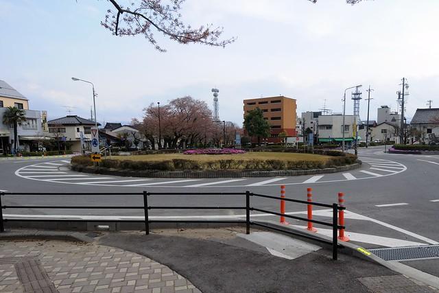 飯田市のラウンドアバウト