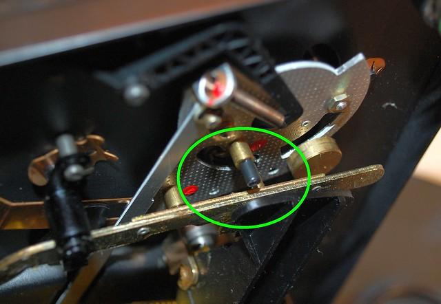 Dual clutch pin 2