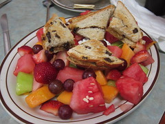 Fruit Plate at Lincoln Cafe 6-13-13
