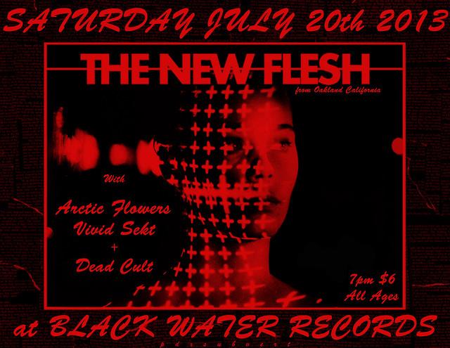 7/20/13 TheNewFlesh/ArcticFlowers/VividSekt/DeadCult