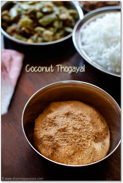 Thengai Thogayal(Coconut Thogayal)