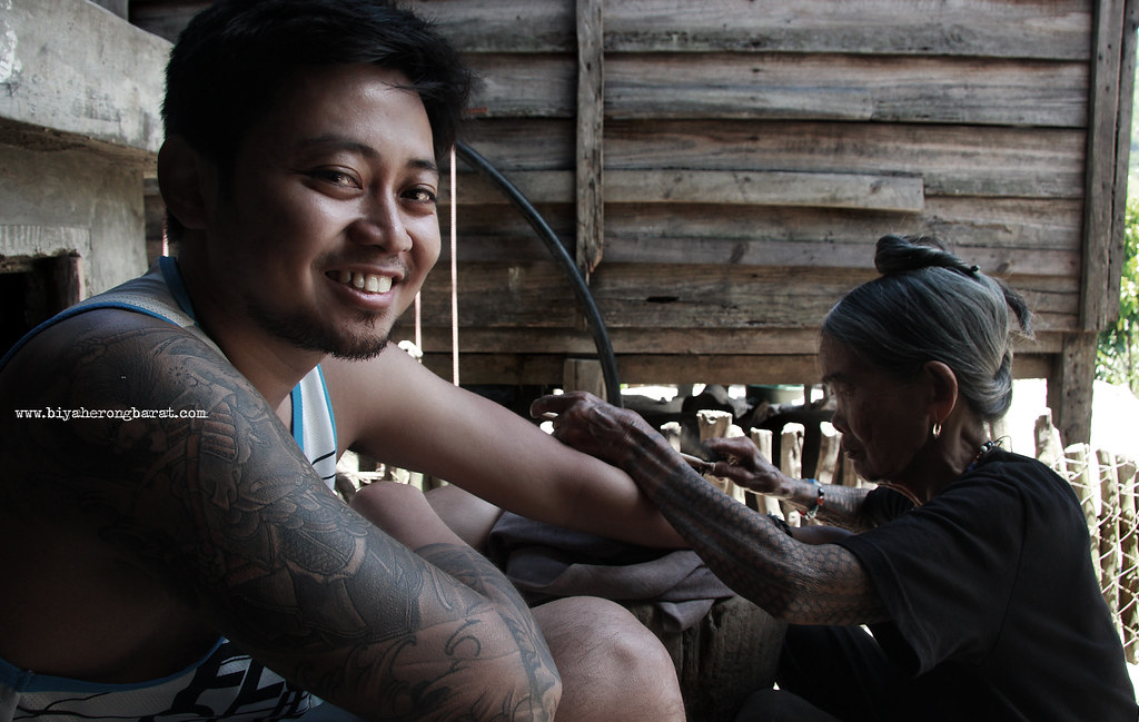mong mambabatok traditional tattoo fang-od kalinga