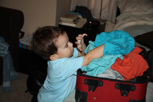 James Packing for Us 2013
