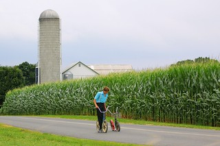 Amish Boy in Lancaster County