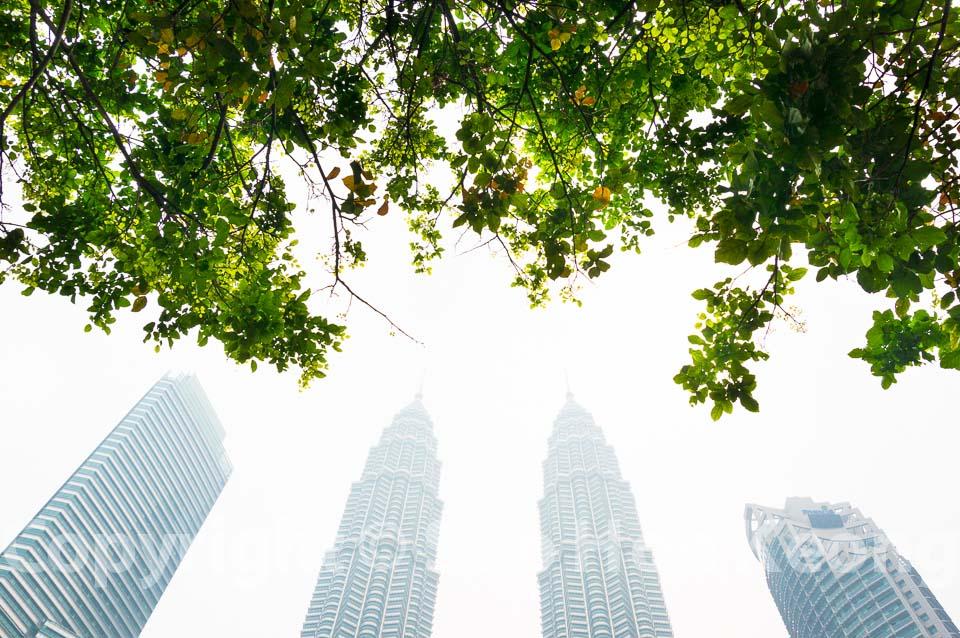 Green and Haze @ Kuala Lumpur, Malaysia