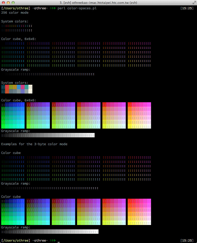 true color terminal