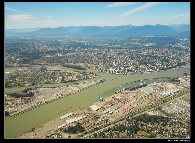 Richmond and Burnaby