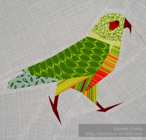 Kea paper pieced block | by SqueekCrafts