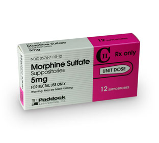 morphine suppositories 5mg