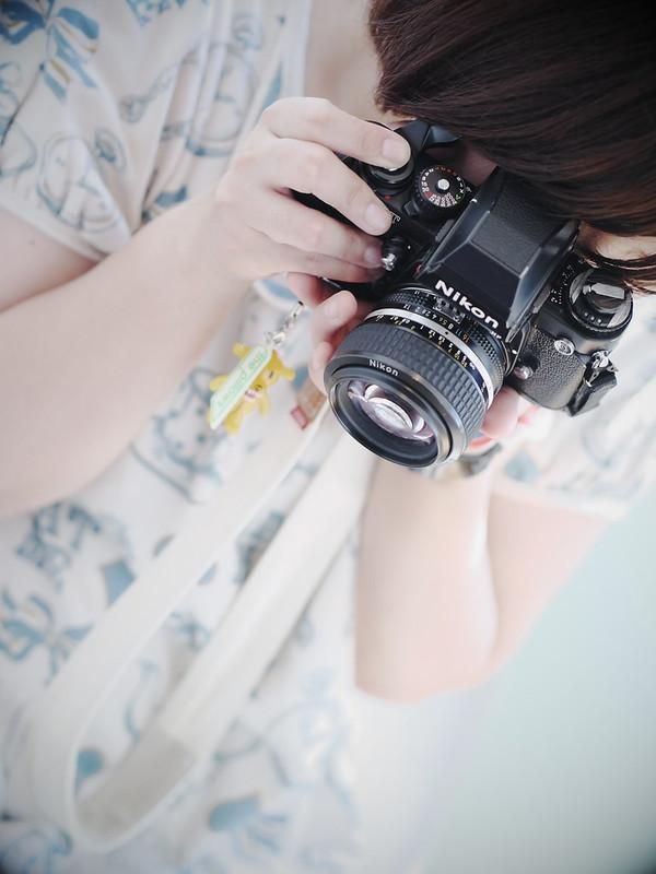 Nikon F3 Girl