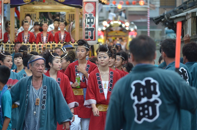 平磯三社祭 2013年8月11日 Festival of Hiraiso in Japan