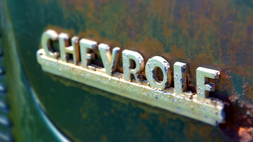 Fading Chevy by Damian Gadal