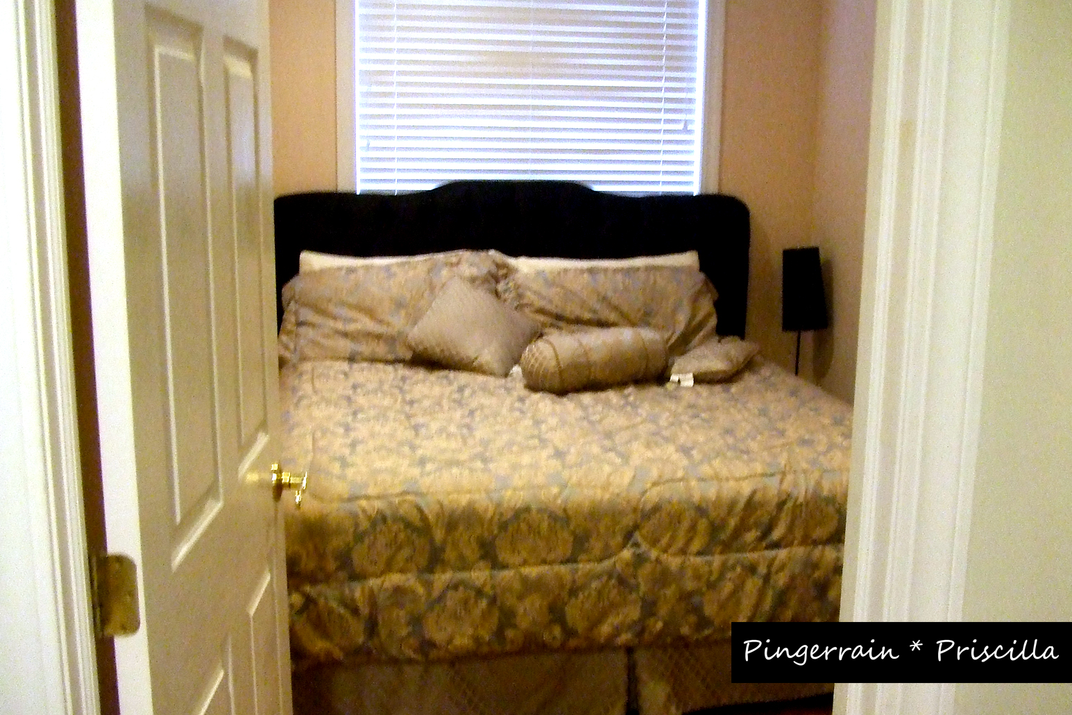 King sized bed in the second Bedroom