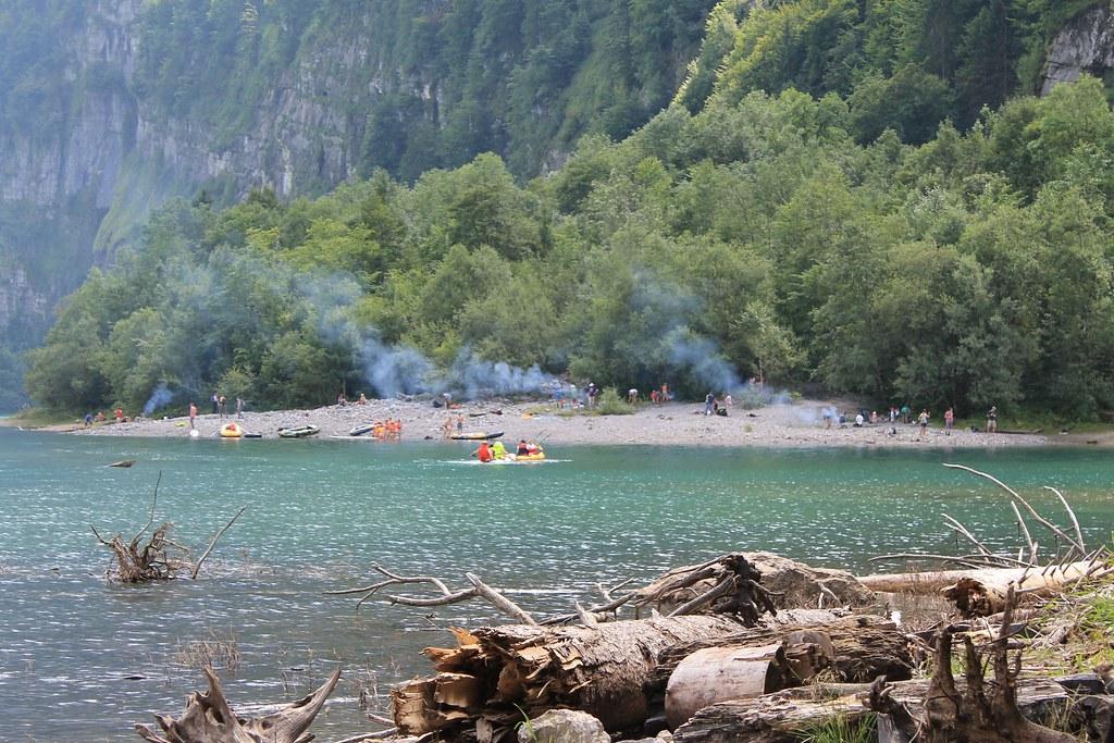 Klöntalersee Camping Vorauen Klöntalersee Camping Vora Flickr