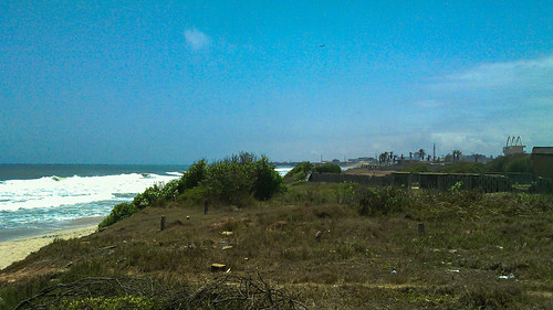 accra africa beach city day316 ghana sea freewheelycom cycletouring cyclotourisme velo cycling jbcyclingafrica