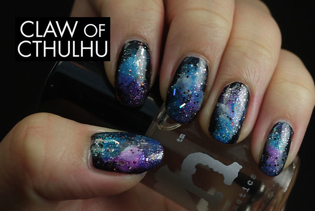 Rainbow Honey Galaxy Nails Art Set