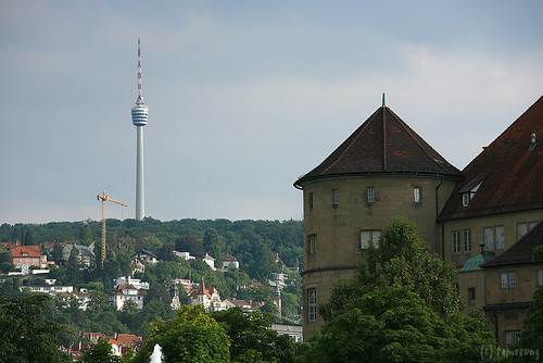 Altes Schloss and TV Tower