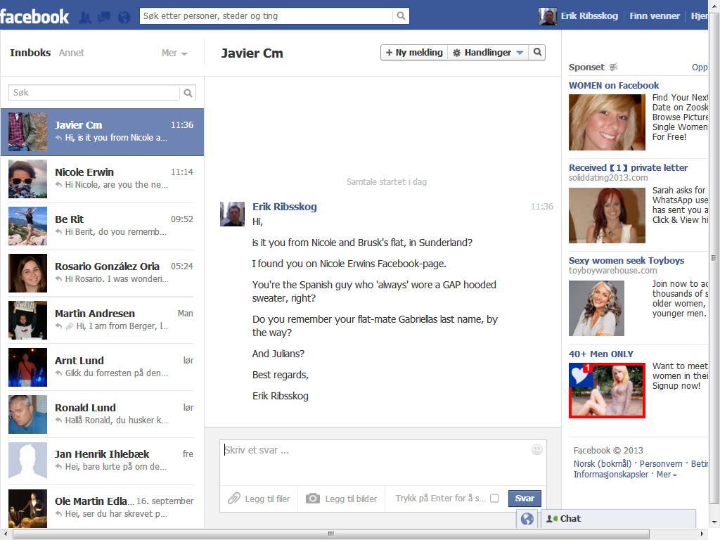 spanjol facebook