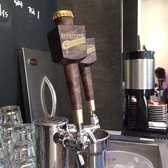 Ermahgahd. Stumptown Cold Brew Draft Tap. #coffee #LA #coldbrew #nofilter #artsdistrict